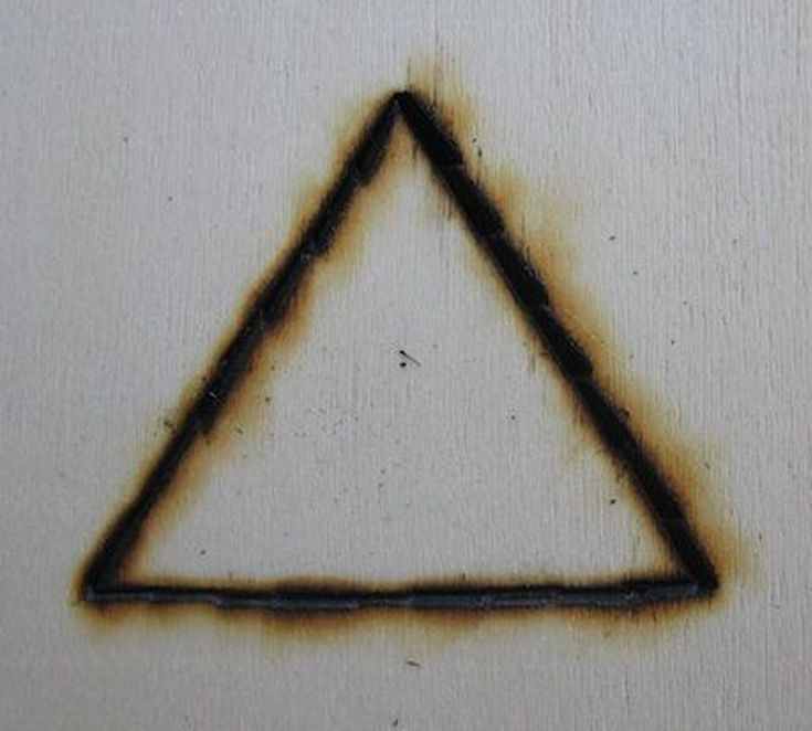 "Pagan and Wiccan Symbols: Fire.  The triangle, with its pyramid shape, is often symbolic of the masculine aspect of the Divine. In 1887, Lydia Bell wrote in The Path that, ""...the triangle is our symbol for truth. As a symbol for the whole of truth, it holds the key to all science and to all wisdom."