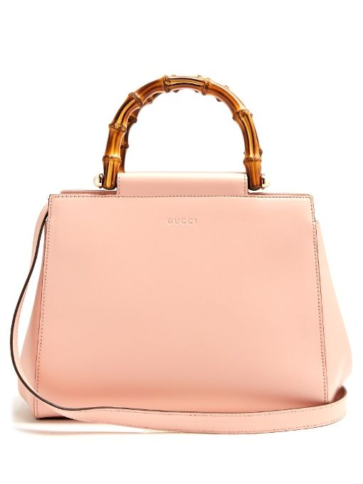 Gucci Angel bamboo-handle small leather tote