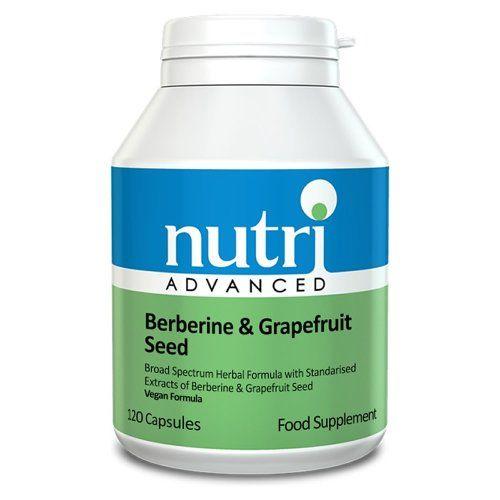 Nutri Advanced Berberine & Grapefruit Seed Formula (120 Capsules) - http://vitamins-minerals-supplements.co.uk/product/nutri-advanced-berberine-grapefruit-seed-formula-120-capsules/
