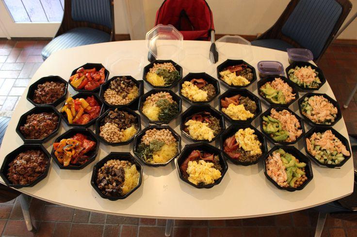Meal Prep for Slow Carb diet - Week 2 - Album on Imgur