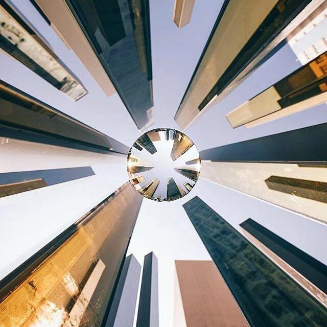 Urban skyscraper photography inspiration by @henryhwu