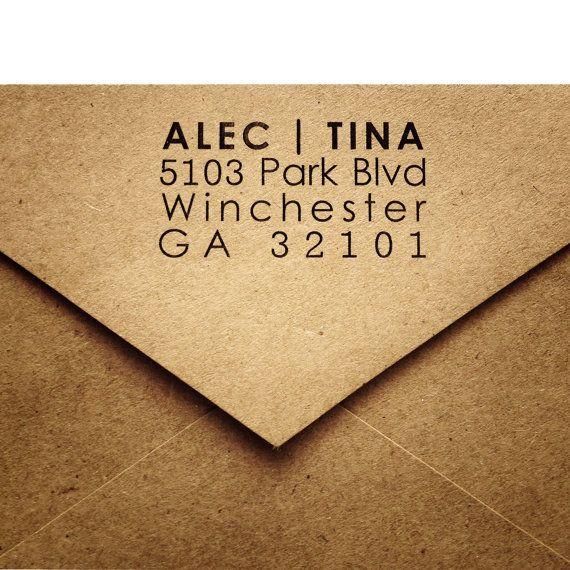 25 Rustic Return Address Envelopes  A2 Envelopes  by AnnsPaperie