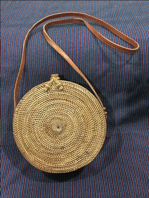 Ata Rattan Shoulder Bag From Bali& Lombok