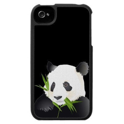 Panda Bear Case For The Iphone 4