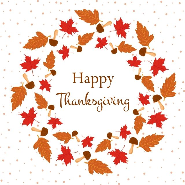 Beautiful Autumn Leaves Frame For Thanksgiving Png Thanksgiving Leaves Png And Vector With Transparent Background For Free Download Autumn Leaves Floral Border Thanksgiving