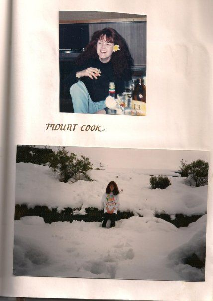 Back in the ol' Mt Cook staff days!