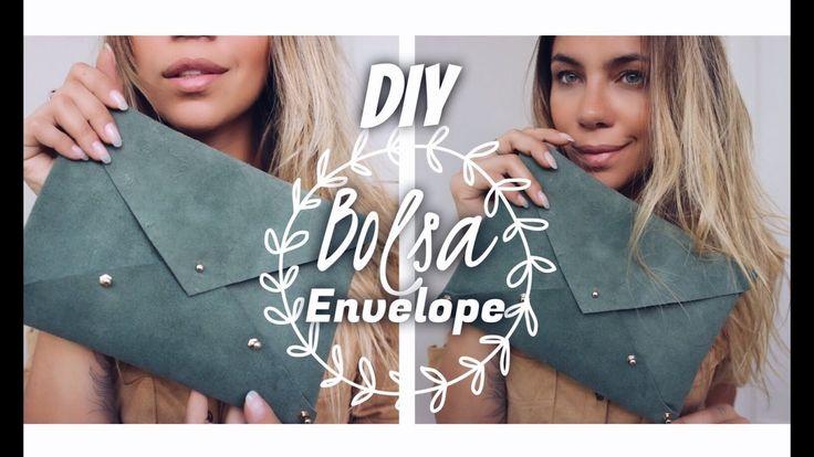DIY: BOLSA ENVELOPE por dicadaka - YouTube