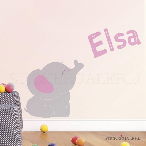 Muursticker babykamer met baby olifant #babykamer #wanddecoratie #inspiratie #kinderkamer #muursticker #wolkjes #baby #roze #blauw #groen #peuter #kwaliteit #design #uniek #nederland #zwanger #zwangerschap #pasgeboren #interieur #muur #wand #doehetzelf #diy #liefde #stickergalerij  Voor de volledige collectie kijk op: www.stickergalerij.nl
