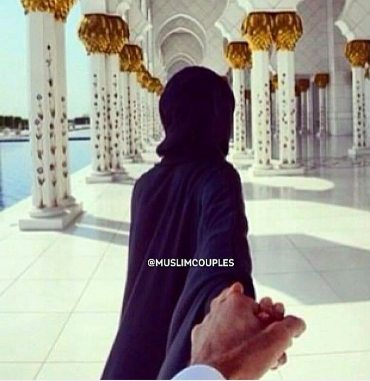 Hand in hand❤ Muslim couple❤❤