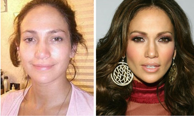 Power of Makeup before after