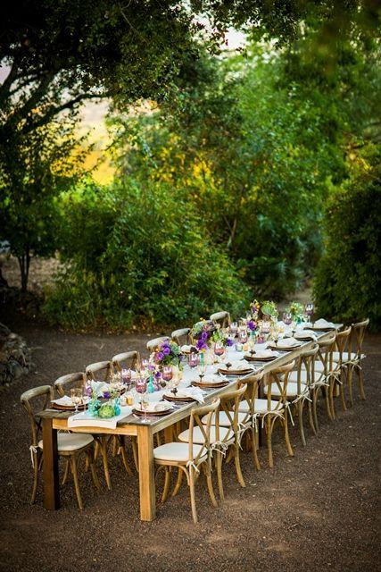 Garden Bo-Ho Wedding at Thomas George Winery. Photos taken by Sonia Savio Photography
