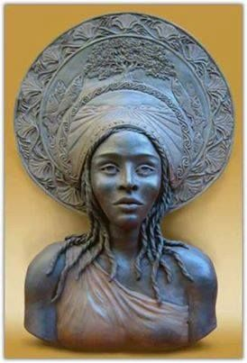 """☥ The state of California was named after the mythical Black Queen Califia. According to the story, California was an island where only Black women lived. When Cortez arrived in California, searching for this mythical queen, her influence on him was so powerful that he paid tribute to Queen Califia by naming the state after her. California literally means, """"the land where Black women live."""""""