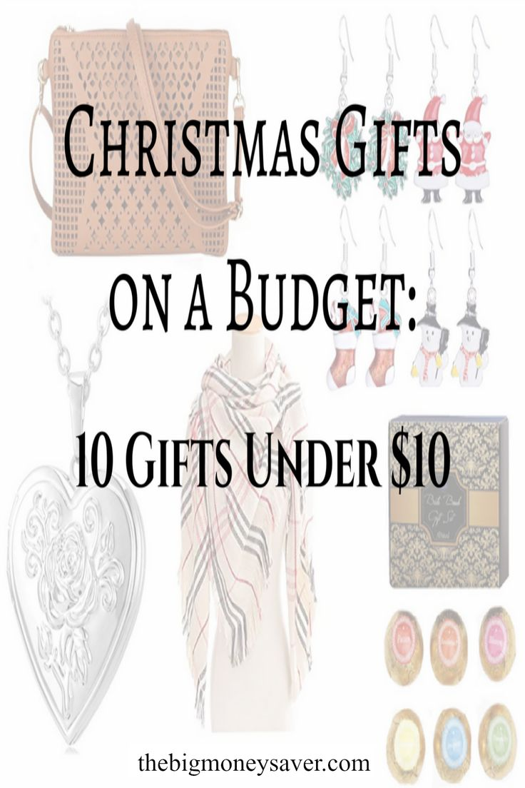 Need last minute Christmas gifts, but can't afford to spend a bunch of money? Find what you need with Christmas gifts on a budget: 10 gifts under $10!