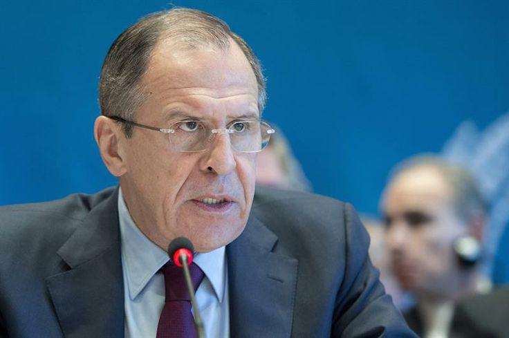 El canciller ruso, Serguei Lavrov, afirmó este miércoles que la oposición interna siria tiene que ser parte del diálogo nacional del país árabe e Irán debe ser parte del diálogo internacional. (Foto: EFE)