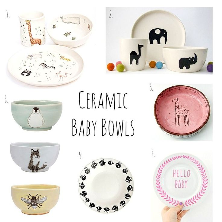 I Love Ceramic Baby Bowls With Images Baby Bowls Toddler Bowls Kids Plates Set