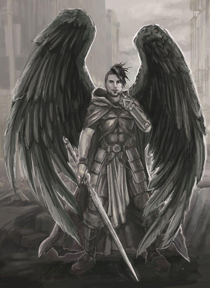 pencil sketches angels