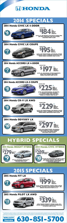 68 best Valley Honda Specials images on Pinterest   Honda specials