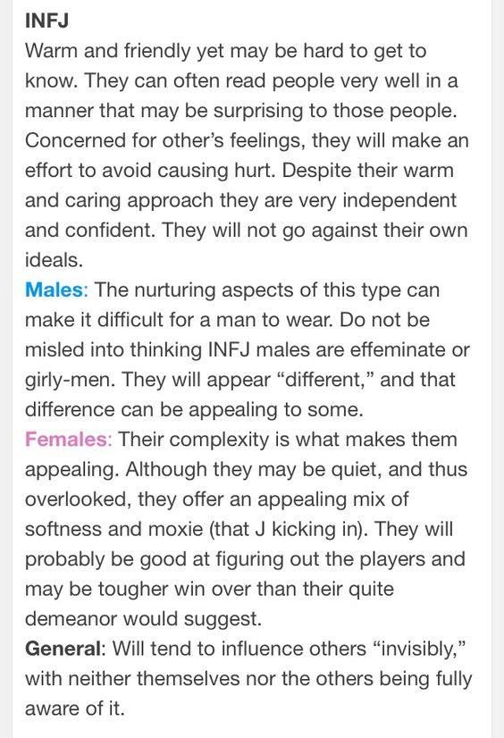 best infj images infj infp infj personality  optimistic essay infj males appear different and be appealing to some how