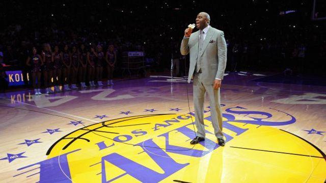 Eurosport : Magic de retour aux Lakers !