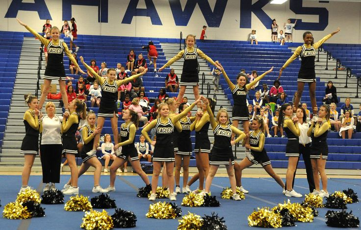 cheer stunts for kids - Google Search