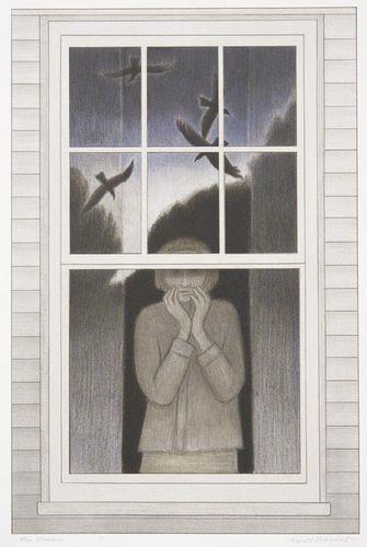 Will Barnet (USA, 1911-2012) - The Dream, 1998