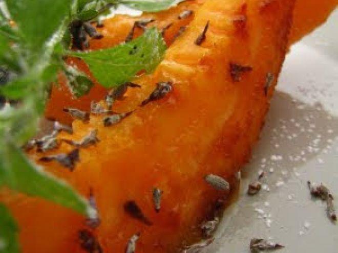 Recette Dessert : Les petites recettes du jardin : melon à la lavande cuit à la plancha par Dans la cuisine de Sophie #recette #plancha #krampouz