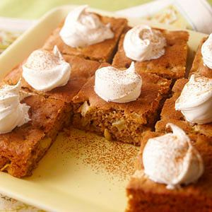 Apple Spice Cake (easly substitute honey for sugar)