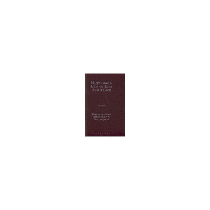 Houseman's Law of Life Assurance (Hardcover) (Robert Surridge & Noleen John & Brian Murphy)