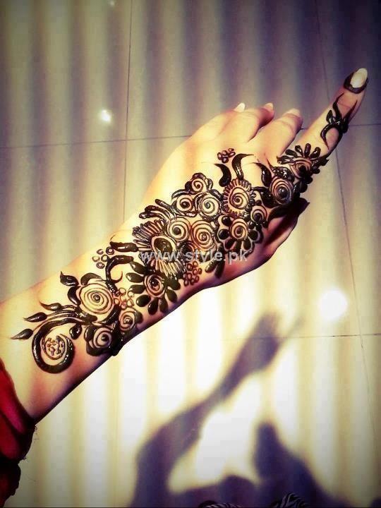 #mehendi #henna #hand #art #lovely #design