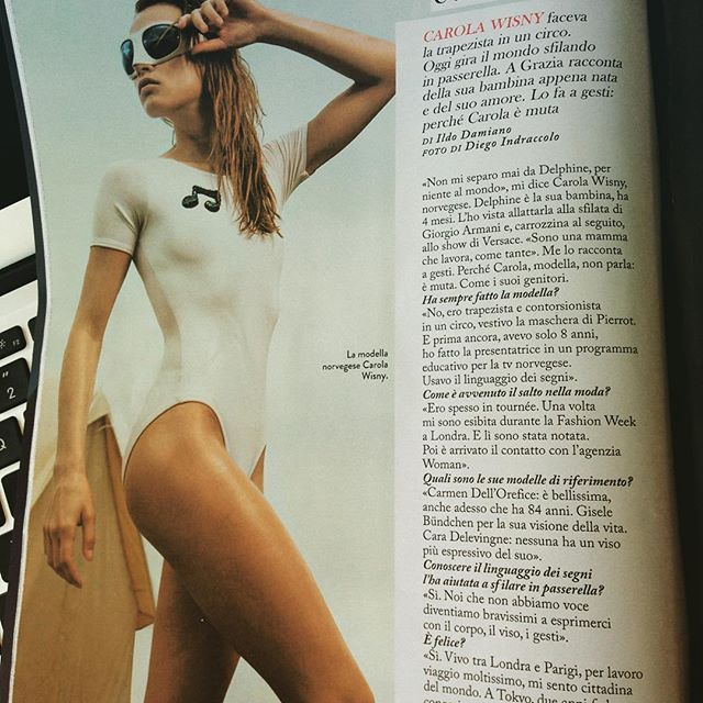 Mille grazie a GRAZIA magazine #grazia for the #interview, @dieciminutidiapplausi per Ildo, hot kisses to @emilioinsolera for making it happen, high five @diego_indraccolo for the coolest picture ever and super hugs to everyone here