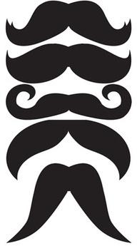 Mustache photo prop templates #Cake