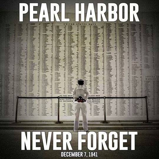 Never Forget 12/07/1941