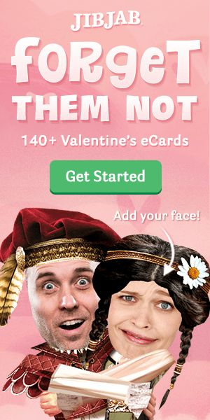 Send your boo a hilarious Valentine's eCard to show them that they're your only one.