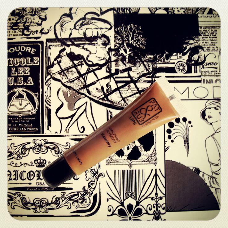 błyszczyk do ust kawowy eko #lips #glosses #coffe #naturalcosmetics #patandrub #patrub