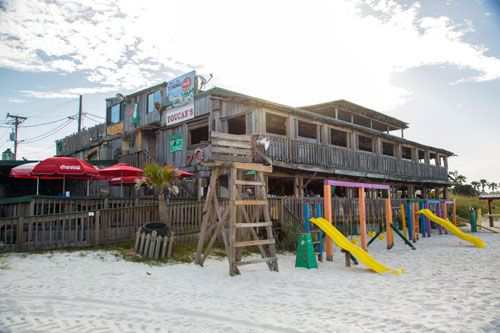 Toucan's Mexico Beach, Florida http://www.visitfloridabeaches.com/gthy-content/area-guide/port-saint-joe-fl-2/restaurants/toucans-tiki-bar/