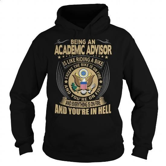 Academic Advisor Job Title #tee #Tshirt. GET YOURS => https://www.sunfrog.com/Jobs/Academic-Advisor-Job-Title-104166624-Black-Hoodie.html?60505