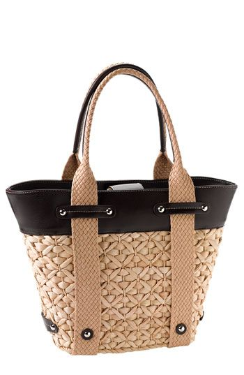 Nordstrom Straw Tote available at #Nordstrom