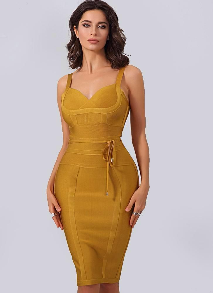f0f82a2a30 My Diva Bandage Dress-Burgundy. Lisa Bodycon Bandage Dress-Gold