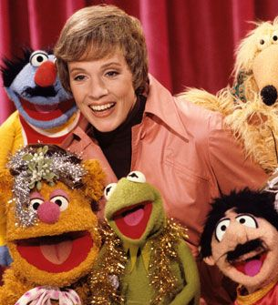 julie andrews + muppets = joy.