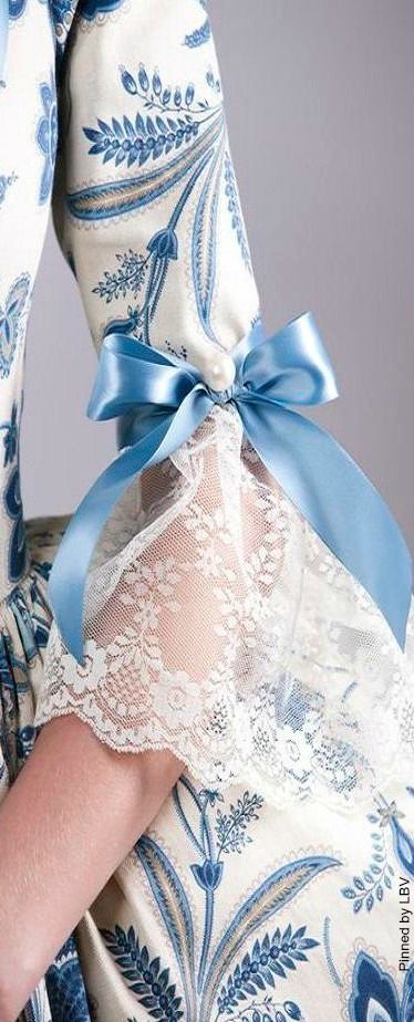 Lace, pearl, and bow | LBV ♥✤