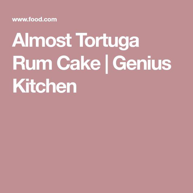 Almost Tortuga Rum Cake   Genius Kitchen