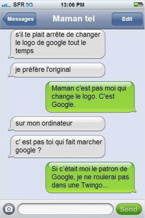 blague drole google