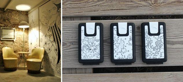 Yoshi Sislay´s new showroom showcases Lockbox wallet Yoshi Sislay's new showroom - Lockbox · the portable safetybox · - LOCKBOX