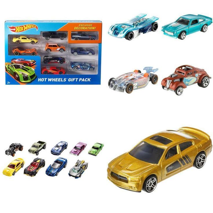 Toy Hot Wheels 9 Car Gift Pack For Christmas Kids Vehicles Toys Collection 1:64 #HotWheels #Custom