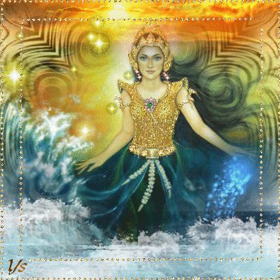 Nyi Roro Kidul ...  Nyi roro kidul  is a legendary Indonesian goddess, known as the Queen of the Southern Sea of Java (Indian Ocean or Samudra Kidul south of Java island) in Javanese and Sundanese mythology.  #nyi-loro-kidul,#javanese-Goddess,#mytology