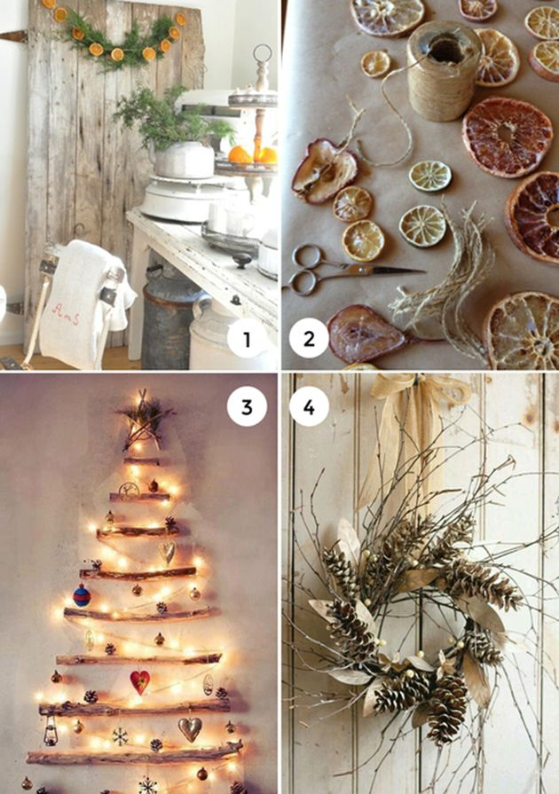 17 best images about inspire holiday decor on pinterest Natural decorating