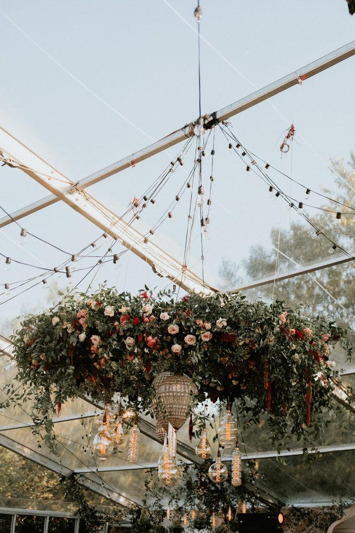 This bohemian wedding in the backyard in Dallas is bigger than life ...