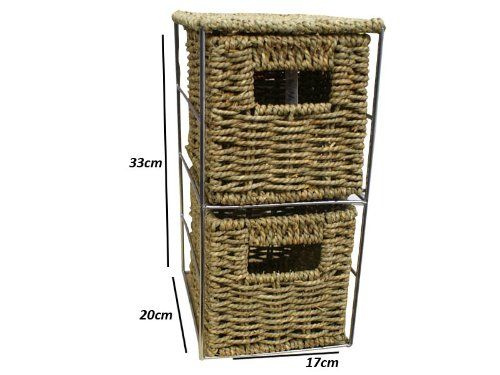 Woodluv 2 Drawer Seagrass Tower Storage Unit -Ideal for Bathroom,Office,Home(E01-111) Woodluv http://www.amazon.co.uk/dp/B003F1FIOE/ref=cm_sw_r_pi_dp_w2COub1ATWEW0