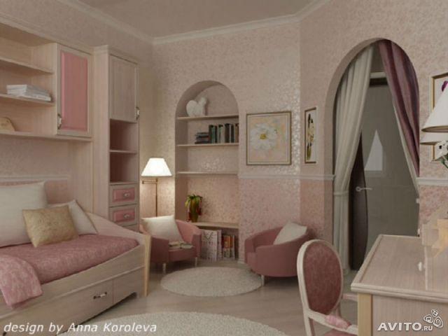 Качественная Мебель: Интерьер Комнаты Для Девушки
