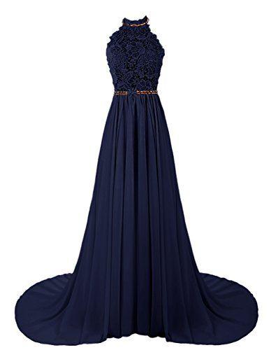 Dresstells Women's Long Halterneck Chiffon Prom Dress A-line Evening Dress Party Dress with Embroidery Dresstells http://www.amazon.co.uk/dp/B00UJGR0G2/ref=cm_sw_r_pi_dp_Jr-wvb0GWB5KF
